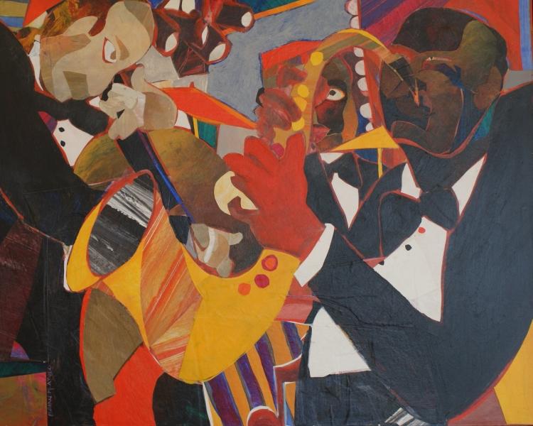 Jazz Series:  Transcending-In Bearden's Style