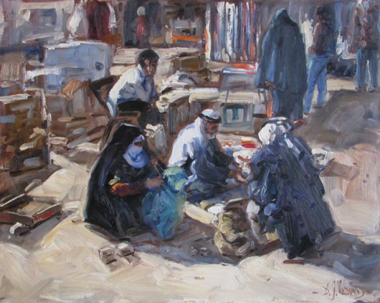 Market Scene, Beesheva, Israel