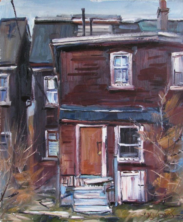Back of Queen Street, East