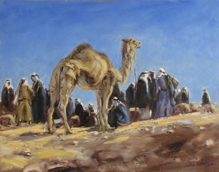 6 a.m., Desert Camel Market