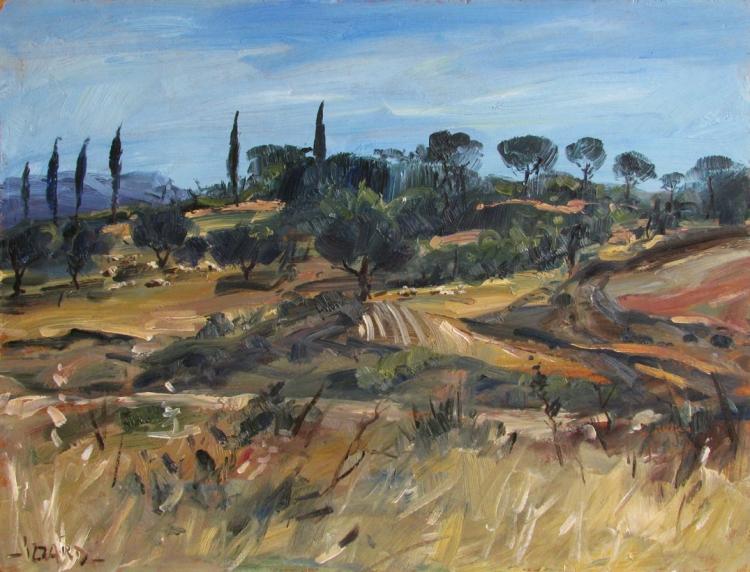 Sicilian Landscape II