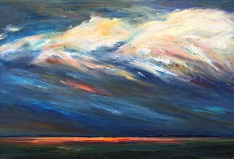 Blue Cloud #4
