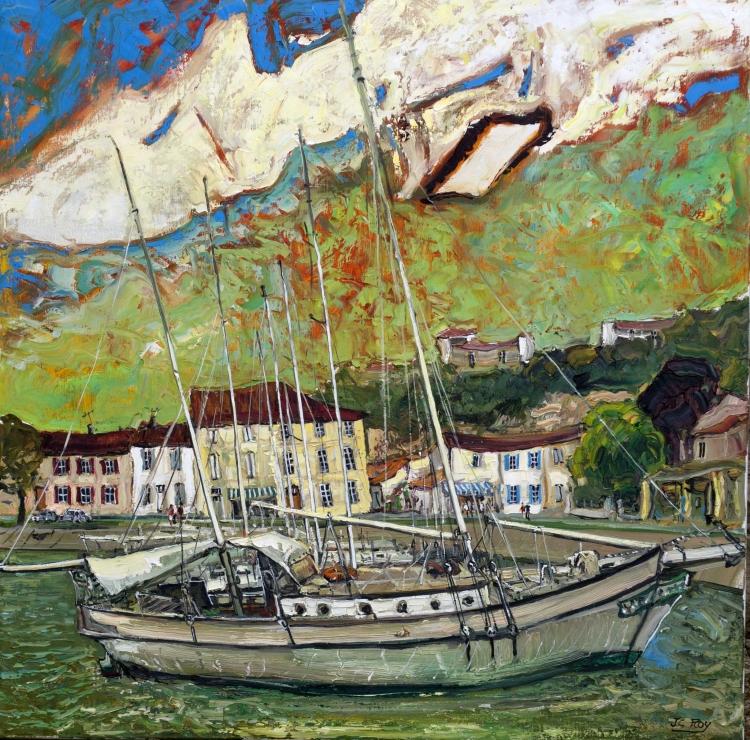 Le vieux voilier, Mortagne-sur-Gironde