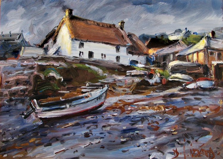 After the Rain, Cadgwith, Cornwall