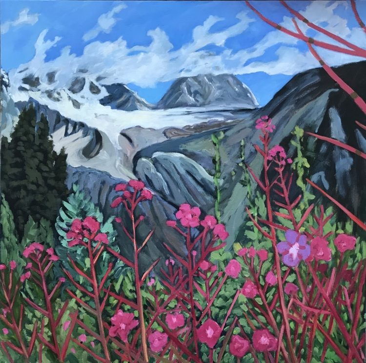 Fireweed, Roger's Pass