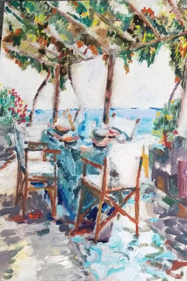Study for Mediterraneo