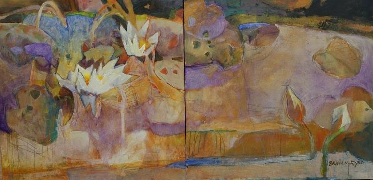 Killarney Pond Series:  Lilies