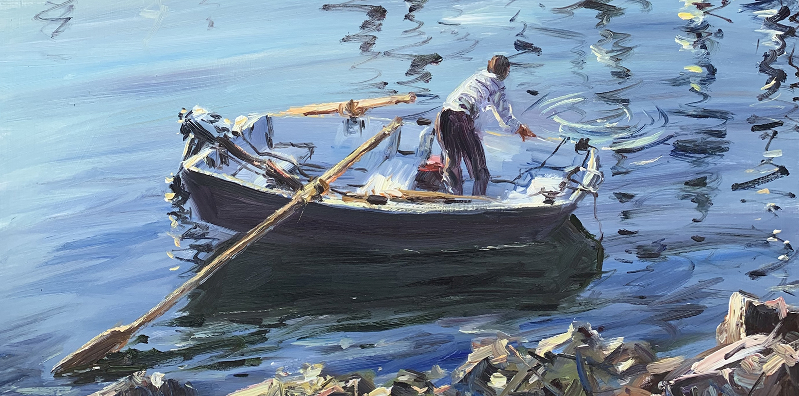 Paintings by Master Impressionist Daniel J. Izzard