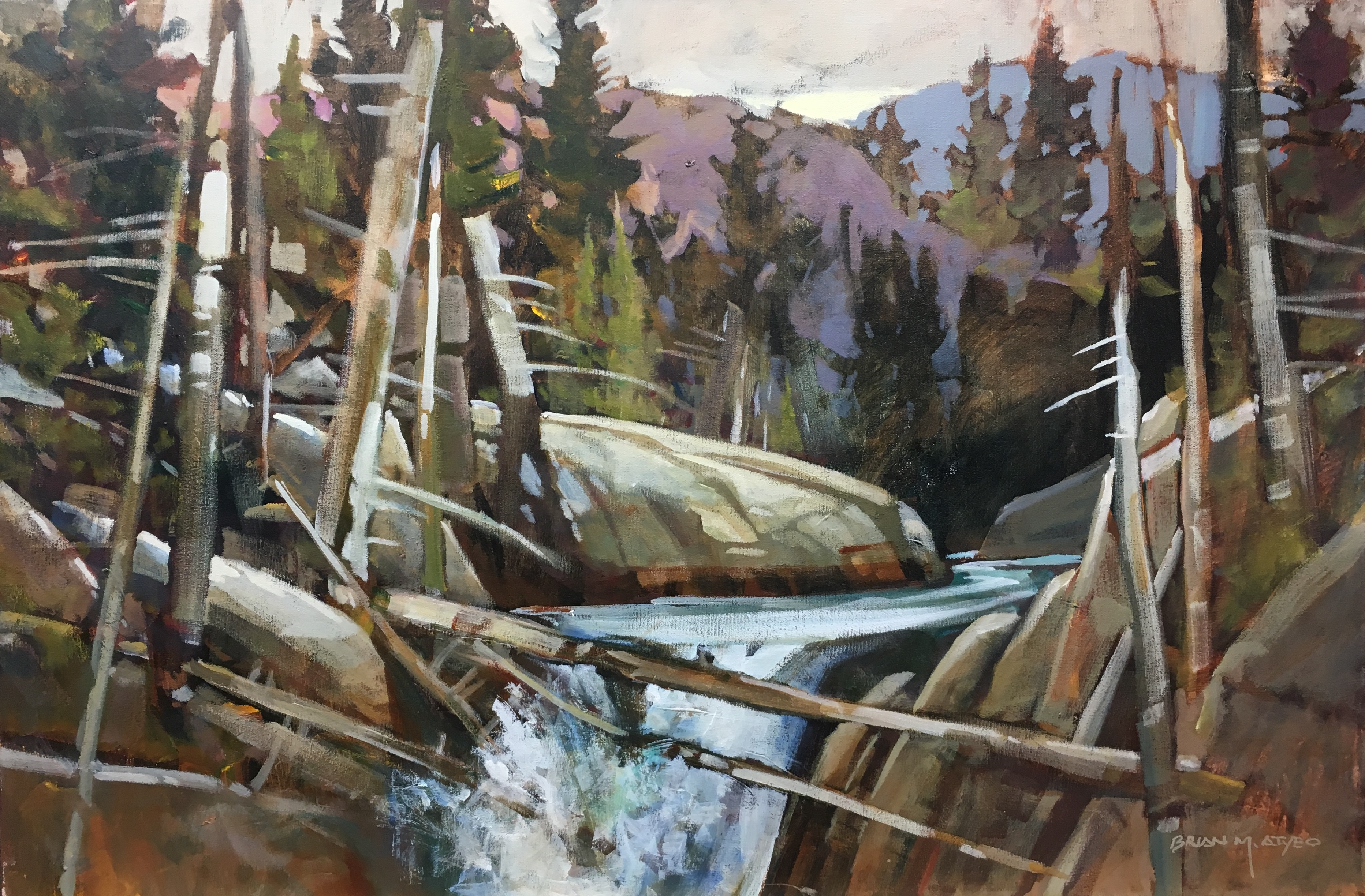 New Paintings by Brian M. Atyeo