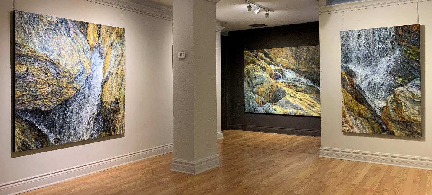 Paul Tom's Solo Exhibition – Textures of Emotion
