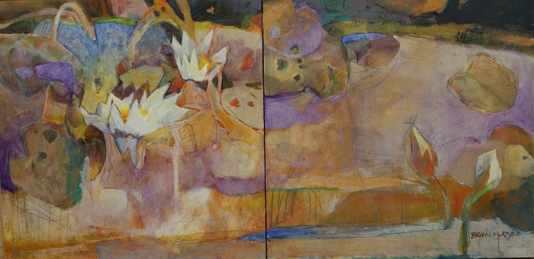 Killarney Pond Series:  Lilies