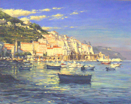 IZZ 273 Evening Sun, Amalfi 24x30.jpg
