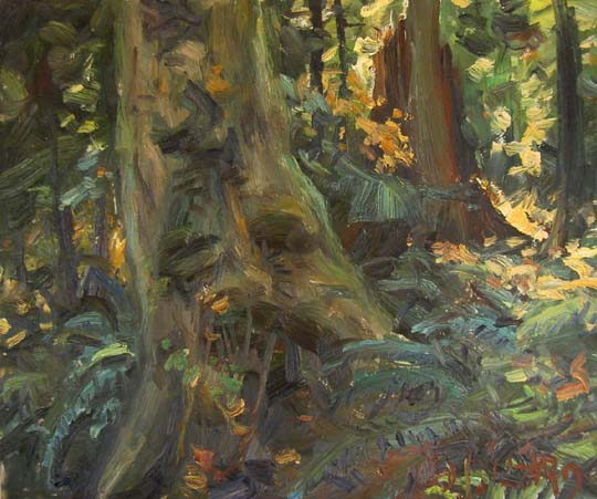 IZZ 293 Autumn Day, Stanley Park 10x12.jpg
