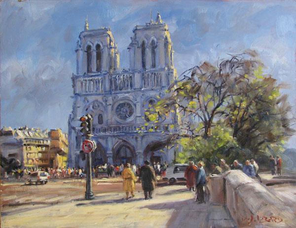 IZZ 322 Notre Dame, Paris 16x20.jpg