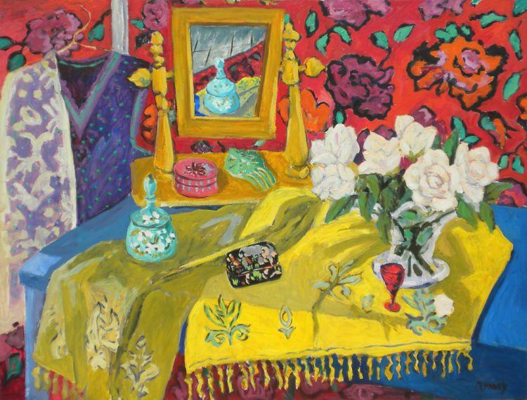 PAV 008 Yellow Shawl 38x48.jpg