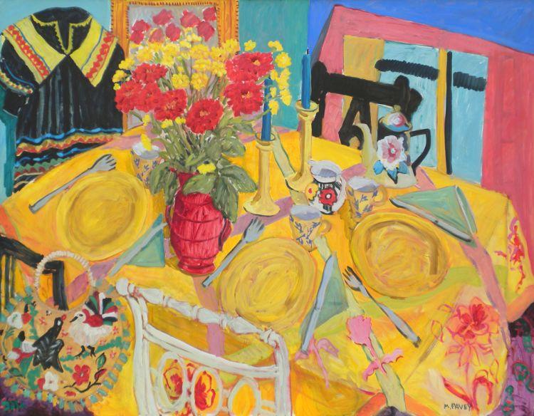 PAV 014 Three Yellow Plates 43x55.jpg