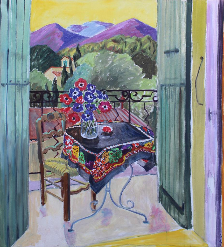 PAV 015 Provence les Alpilles 58 x 48