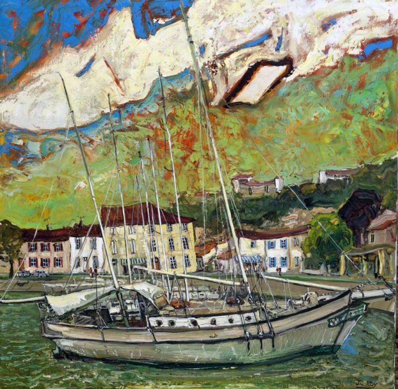 ROY 133 Le Vieux Voilier Mortagne sur Gironde 39.3x39.3