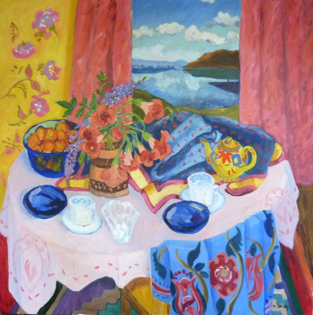 PAV 030 Okanagen Room with a View 36x36