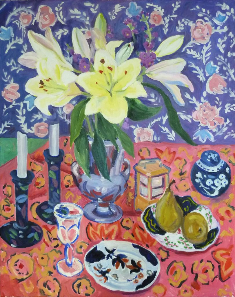 PAV 036 443 Yellow Lillies 1 20x30