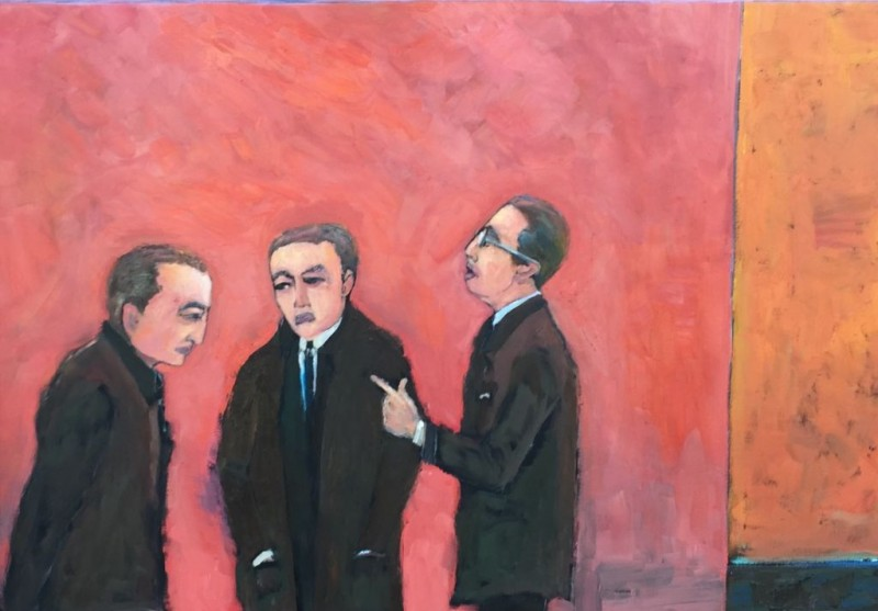 MAC 818 Pointing the Finger 36x48