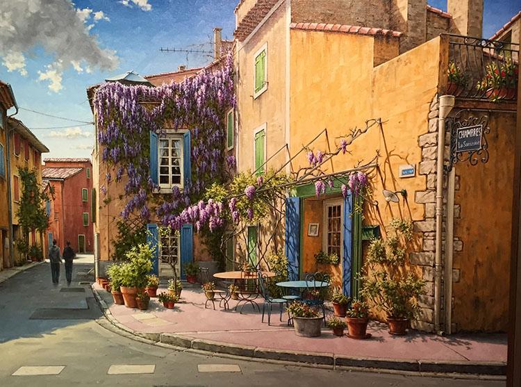 IZZ 162 Auberge de Provence 30x40