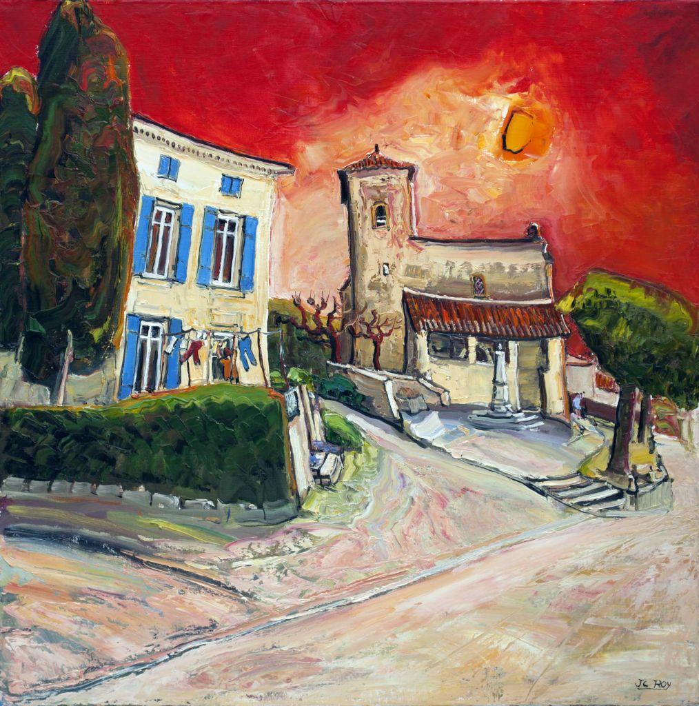 ROY 142 Dompierre sur Charente 31.5x31.5