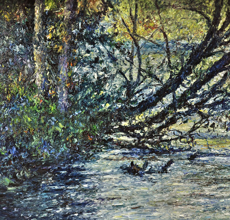 TOM 260 Touch The River 48 X 50