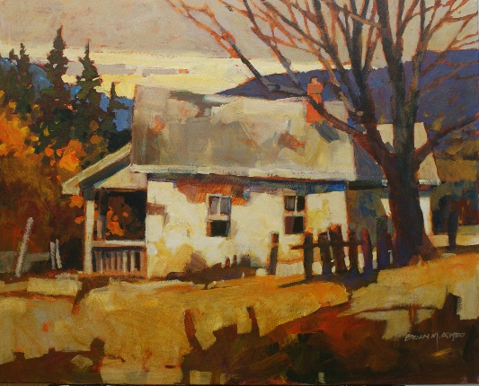 ATY 1020 A Lasting Place 24 X 30