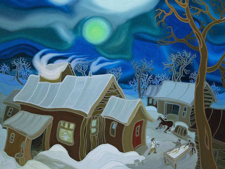 FOU 014 Journey To The Sugar Shack 36 x 48