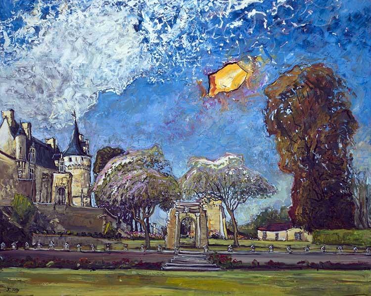 ROY 238 Château de Crazannes 47 x 59