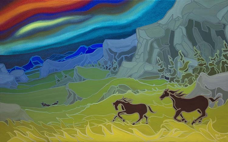 FOU 016 Free In The Field 30 x 48