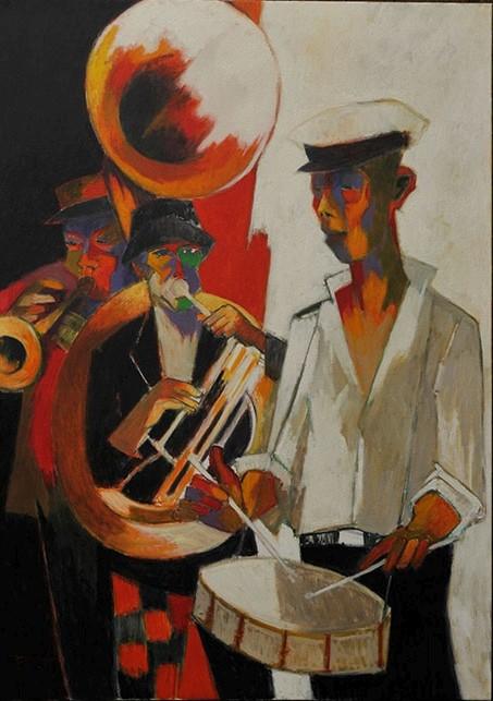 PIV 214 Fanfare (New Orleans) 48 x 36