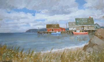 ROB 048 PUR St. Margaret's Bay, N.S. 16 x26